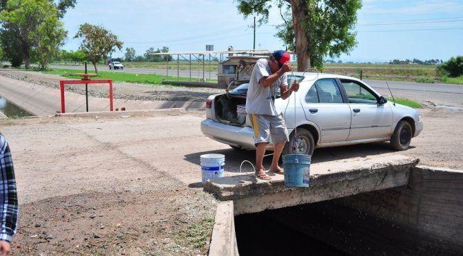 Sinaloa: cumplen 4 días sin agua potable en el ejido Antonio Rosales (El Debate)