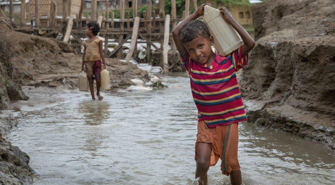 La falta de agua potable es más mortal que las balas para los niños en las zonas de conflicto (Noticias ONU)