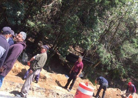 CDMX: En riesgo obra que dotará agua a 30 mil personas en Cuajimalpa (La Jornada)