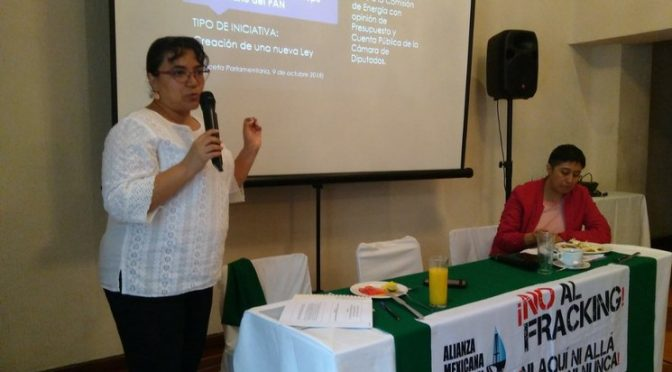 "CDMX: Política que permite ""fracking"" no ha sido modificada: ONG (La Jornada)"