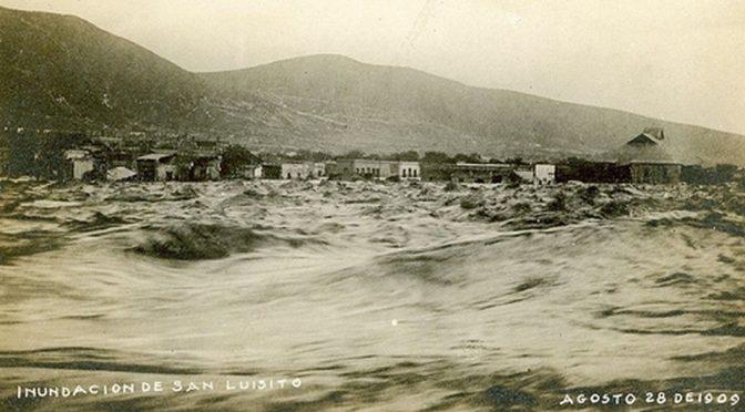 Monterrey: En agosto de 1909, despertó bajo el agua (Milenio)