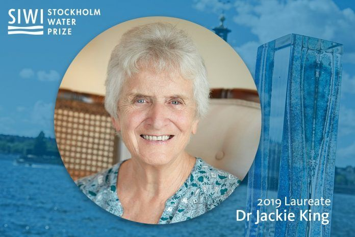 Suecia: Dra. Jackie King, experta en caudales fluviales, recibirá el Premio del Agua de Estocolmo 2019 (Sitquije)