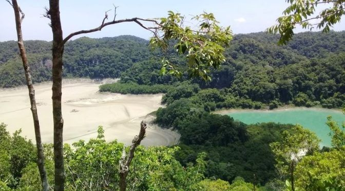 Chiapas: La laguna Metzabok que se secó por el cambio climático en México (El Imparcial)
