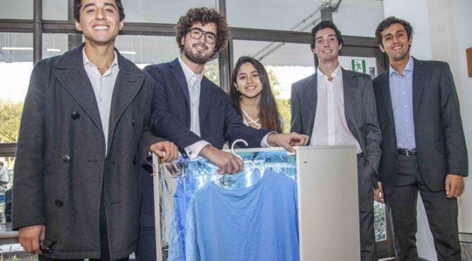 Chilenos crean lavadora ecológica que solo usa luz y no gasta agua (CNN)