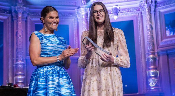 Estocolmo: Macinley Butson de Australia gana el Premio Junior del Agua 2019 (SIWI)