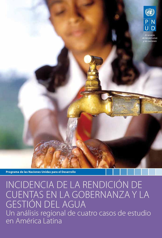 Incidencia de la rendición de cuentas en la gobernanza y la gestión del agua