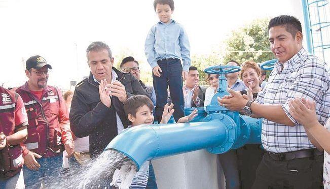 EdoMex: En Ecatepec termina rehabilitación de 22 pozos de agua (El Universal)