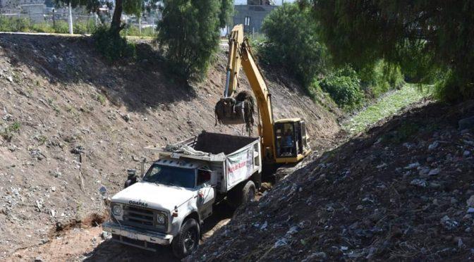 Edomex: Para acopiar agua, instalan cinco presas en Chimalhuacán (Head Topics)