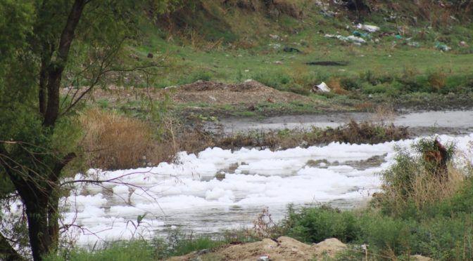 Guanajuato: En Villagrán, el Río Laja presenta gran contaminación (Milenio)