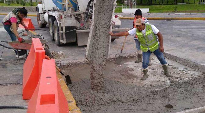 Puebla: Reparan 12 fugas de agua y colapsos ubicados en concreto hidráulico (Milenio)