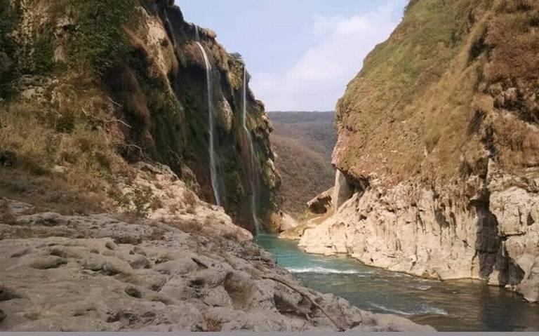 San Luis Potosí: Cascada de Tamul… sin agua (El Sol de San Luis)
