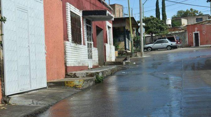 Chihuahua: Una fuga más de agua; ahora en la colonia Morelos (El Sol de Parral)