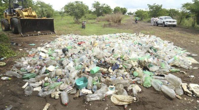 Retiran 14 toneladas de basura de río en Veracruz (El Financiero)