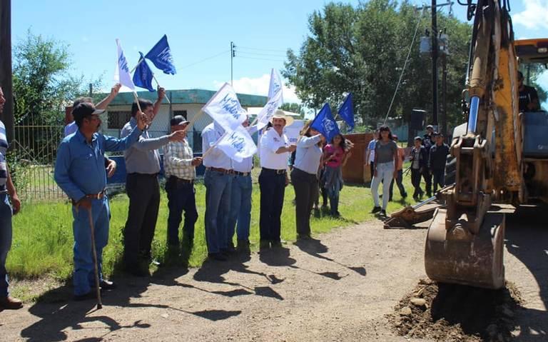 Chihuahua: Instalan en Bravo línea de conducción de aguas (El Heraldo de Chihuahua)