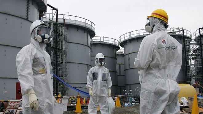 """Japón: Accidente nuclear en Fukushima: """"la única opción"""" es verter agua radioactiva en el océano (BBC NEWS)"""