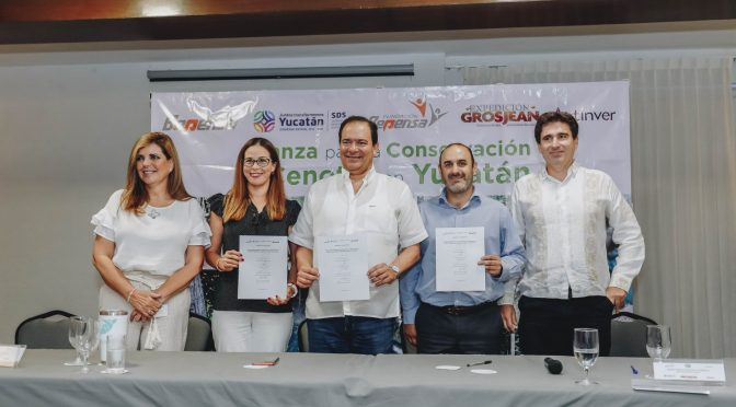 Yucatán: Continúan actuando y saneando cenotes (La Revista)
