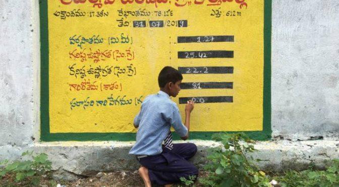 India: La historia de los niños de Kothapalli que estudian el cambio climático y han aprendido a atrapar la lluvia (El País)