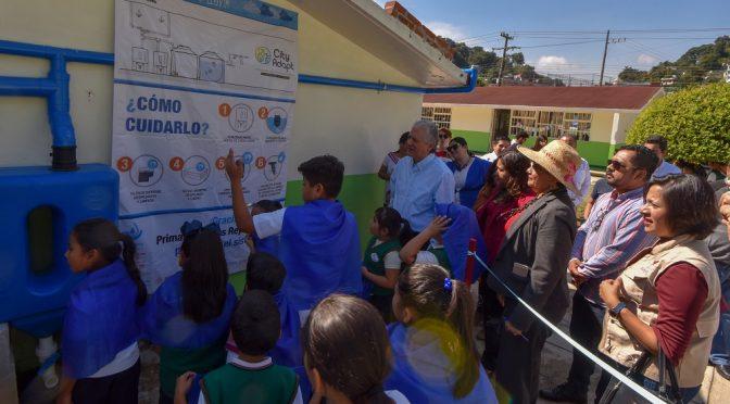 Veracruz: Xalapa, primer municipio en aplicar el programa Escuelas de Lluvia (Palabras Claras)