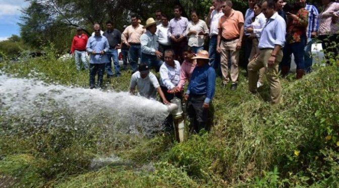 Puebla: Mejoran en 50% la productividad agrícola con tecnificación de riego (24 horas)