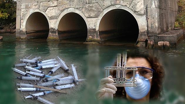 Las drogas contaminan el agua que bebemos porque las depuradoras no pueden filtrarlas todas (Vice)