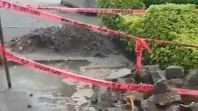 CDMX: Reportan fuga de agua en parque de la Benito Juárez (Excelsior)