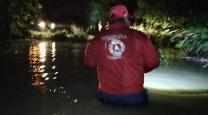 Tabasco: Se desborda río Pichucalco en Teapa (Tabasco Hoy)