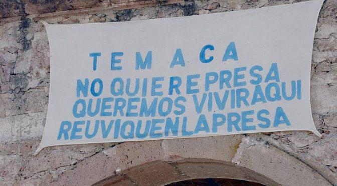 México: Mujeres de 16 estados exigen a AMLO frenar El Zapotillo y otros proyectos extractivistas (DesInformemonos)