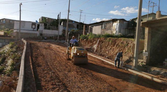 Sonora: Notable avance en obra de pavimento (Nuevo Día)