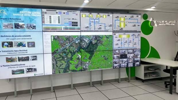 Puebla: Estado cuenta con la sala de control del servicio de agua más moderna del país (Puebla Oline)