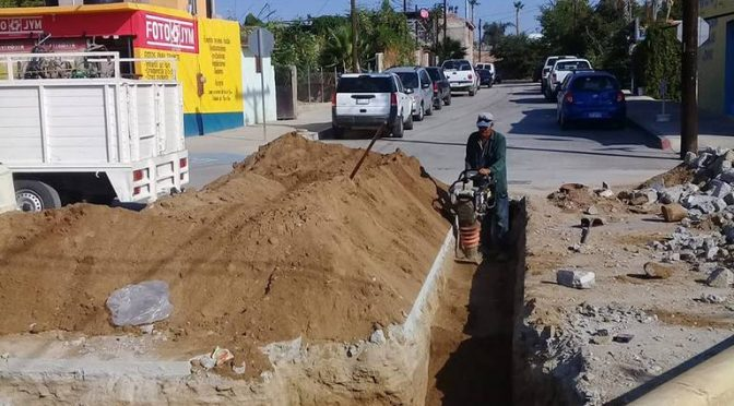 Baja California Sur: Amplían red de agua potable en Cabo San Lucas (El Sudcaliforniano)