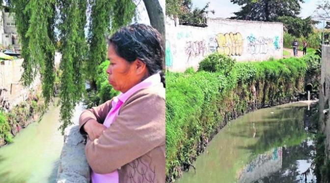 Estado de México: Preocupa contaminación del Río Verdiguel en Toluca, habitantes temen enfermedades (El Gráfico)