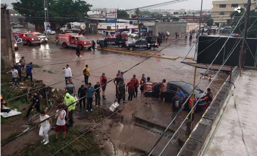 Sinaloa: Lluvias provocan daños millonarios en infraestructura de JAPAC (Luz Noticias)