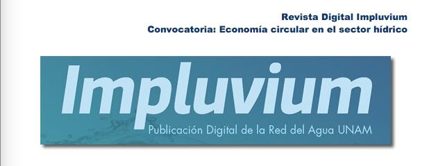 """Convocatoria """" Economía circular en el sector hídrico"""""""