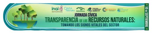 Analizan el papel de la Transparencia ante los retos del capital natural en México (Documento)