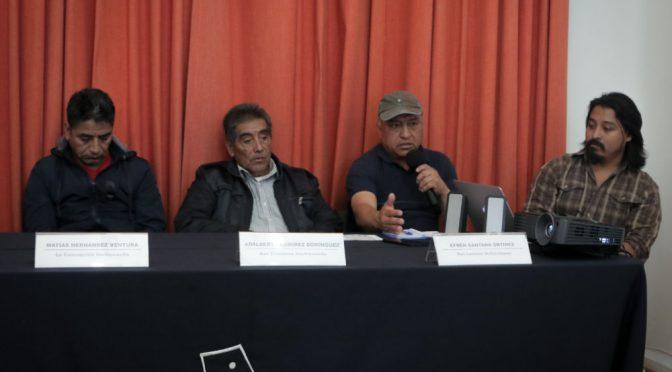 Edomex: Comunidades otomíes denuncian hostigamiento por oponerse a la autopista Toluca- Naucalpan (Cencos)