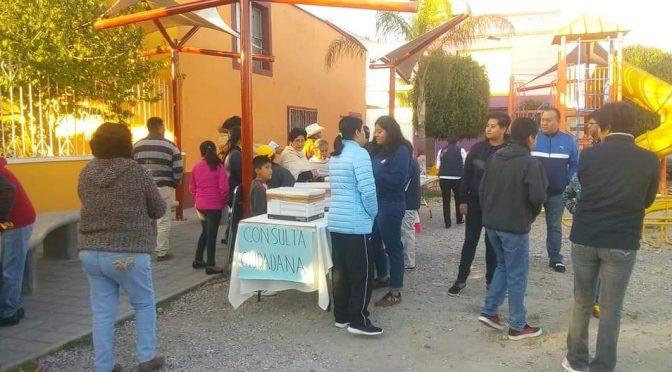 Puebla: En Momoxpan, rechazan el sistema de dotación de agua de Luis Alberto Arriaga y realizan consulta ciudadana (Desde Puebla)