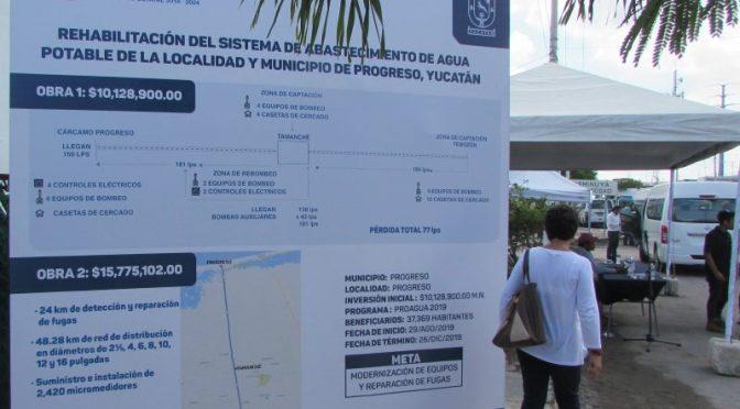 Yucatán: Con $16 Mlls. tendrán agua (Diario de Yucatán)