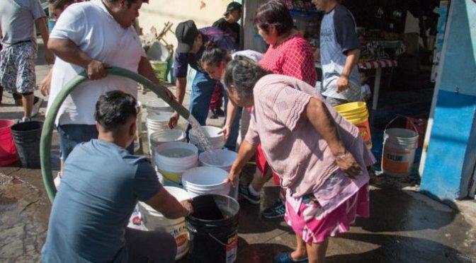 CDMX: Iztapalapa se prepara para una semana sin agua (Al Momento)