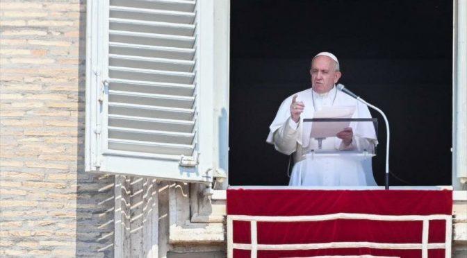 Ciudad del Vaticano: Papa Francisco llama a tomar medidas contra cambio climático (La Función)