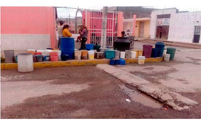 Veracruz: En Perote llevan 2 meses sin agua; habitantes amenazan con realizar bloqueos (Diario de Xalapa)