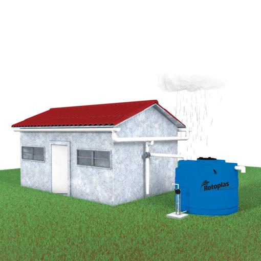 Construcción de un sistema de captación de agua pluvial mediante el uso de concreto permeable