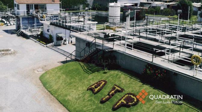 San Luis Potosí: Grandes empresas de la Zona Industrial usan agua tratada (Quadratin)