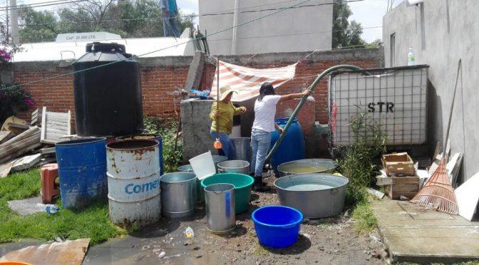 Pueblo de Edomex sigue sin agua pese a promesa del gobierno por aceptar el aeropuerto de Santa Lucía (Animal Político)