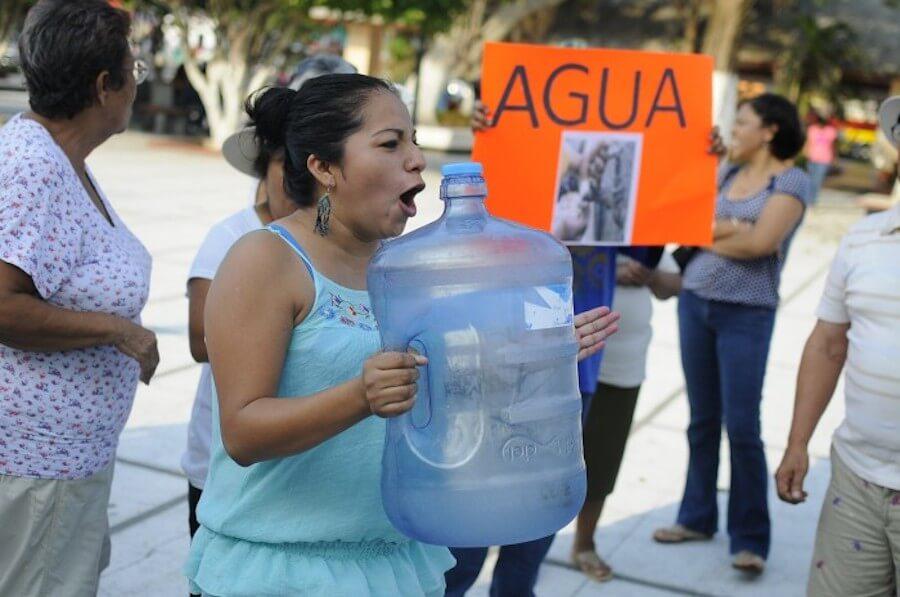México: Sólo 68% de hogares tiene agua a diario: Inegi (La jornada)