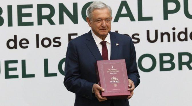 México: Secretaria de Gobernación entrega primer informe de AMLO al Congreso (Bajo palabra)
