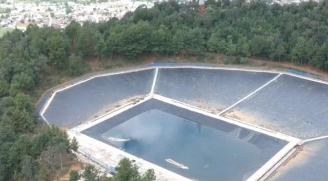 Michoacán: Captador de agua de lluvia en el cerro Kukundicata, la más grande de Latinoamérica (Noticieros Televisa)