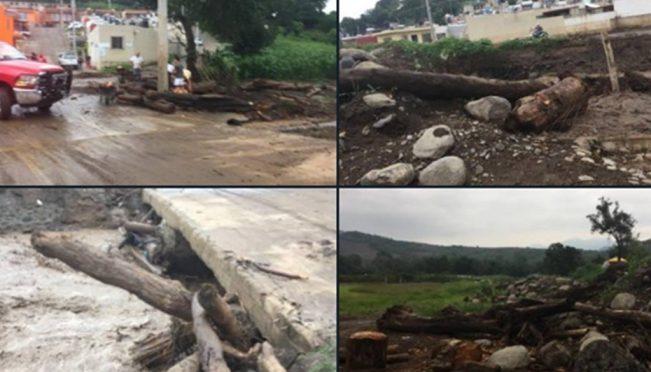 Jalisco: Se desborda de nuevo río en San Gabriel (El Universal)