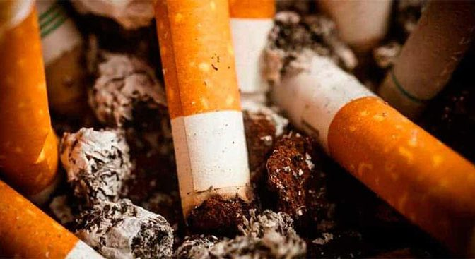 ¡Colillas de cigarro, más contaminantes que los popotes! (Diario Marca)