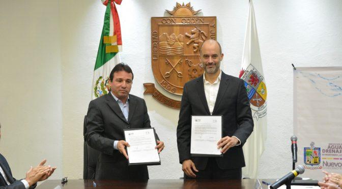 Monterrey: San Pedro pacta alianza con Agua y Drenaje (Milenio)