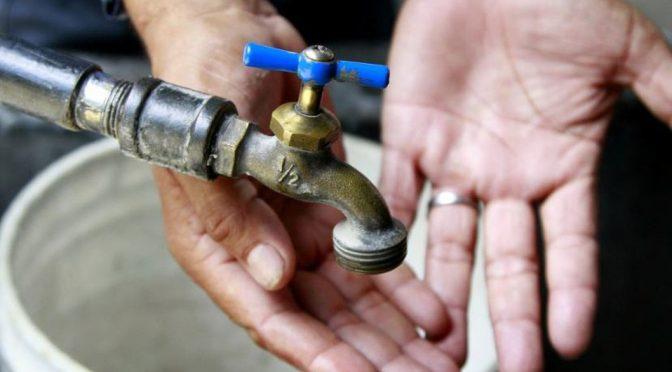 Tampico: Baja presión del agua afectará a 38 colonias (Milenio)